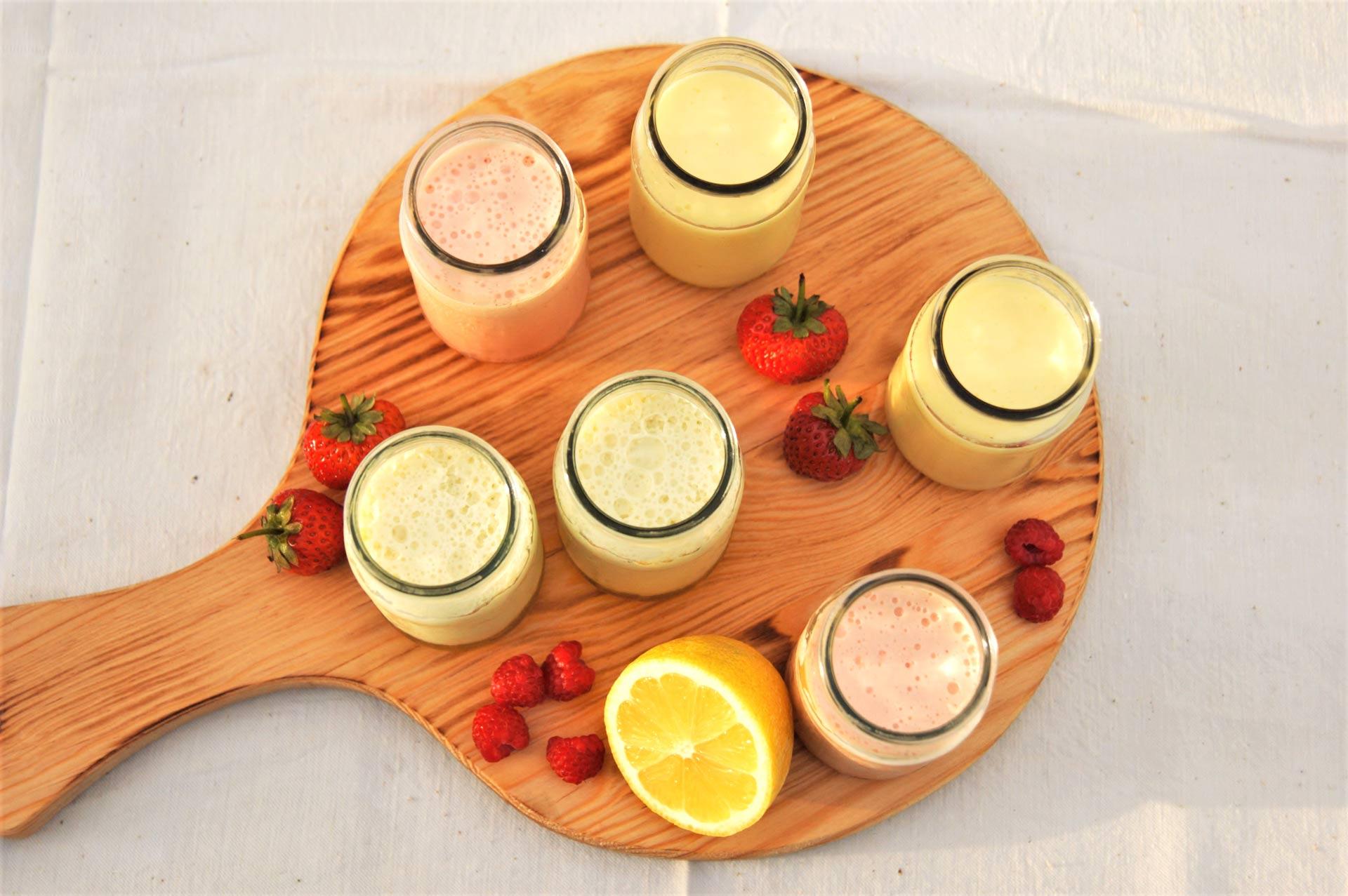 Strawberry, Pineapple Jellogurt