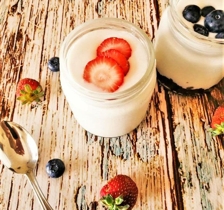 Iogurte vegetal de coco por Healthy Bites