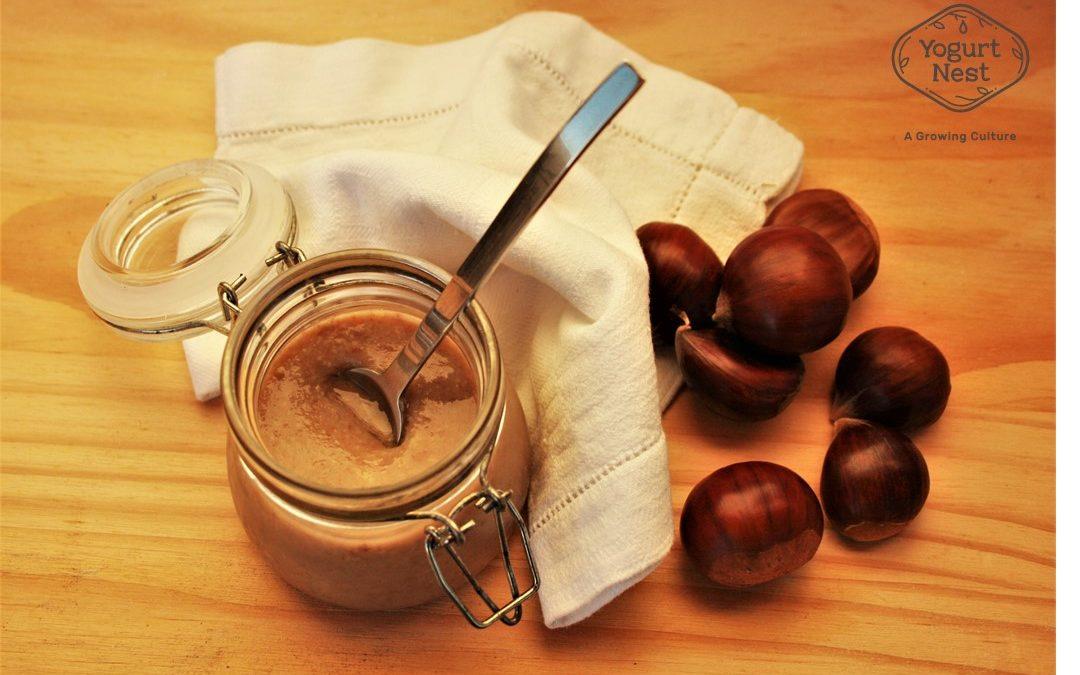 Iogurte de castanha e erva-doce