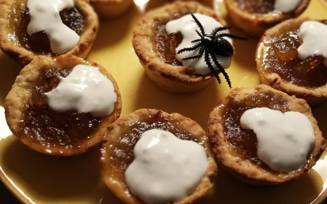 Mini-tartes de Halloween