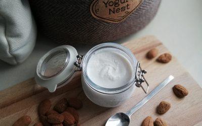 Iogurte vegetal de amêndoa caseiro